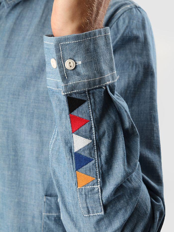 denim shirt - nice detail