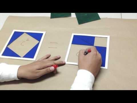Demostración del Teorema de Pitágoras - SEEDUCA - YouTube
