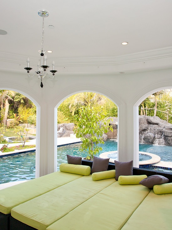 Porch, pool, perfection...