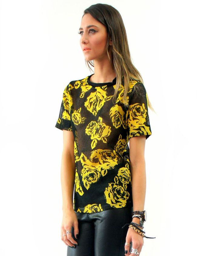 ROSES MESH TEE Lioness $50.00 NZD  http://www.fash.co.nz/afawcs0159551/CATID=1/ID=913/SID=665943798/Roses-Mesh-Tee.html