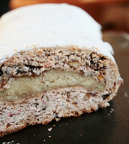 Stollen. make this for dad