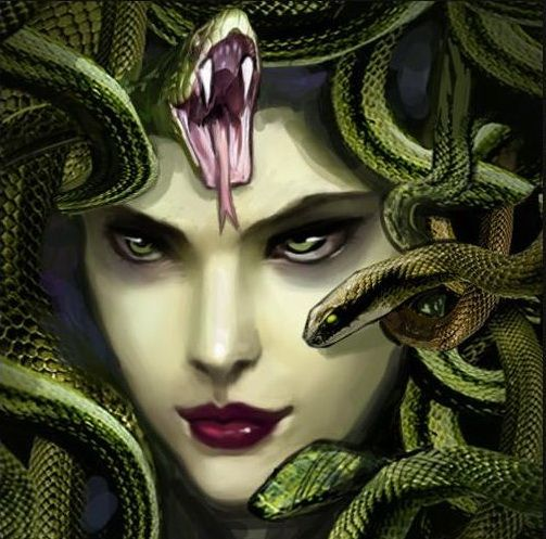 Фотография  Медуза Горгона,  photo  Medusa Gorgon