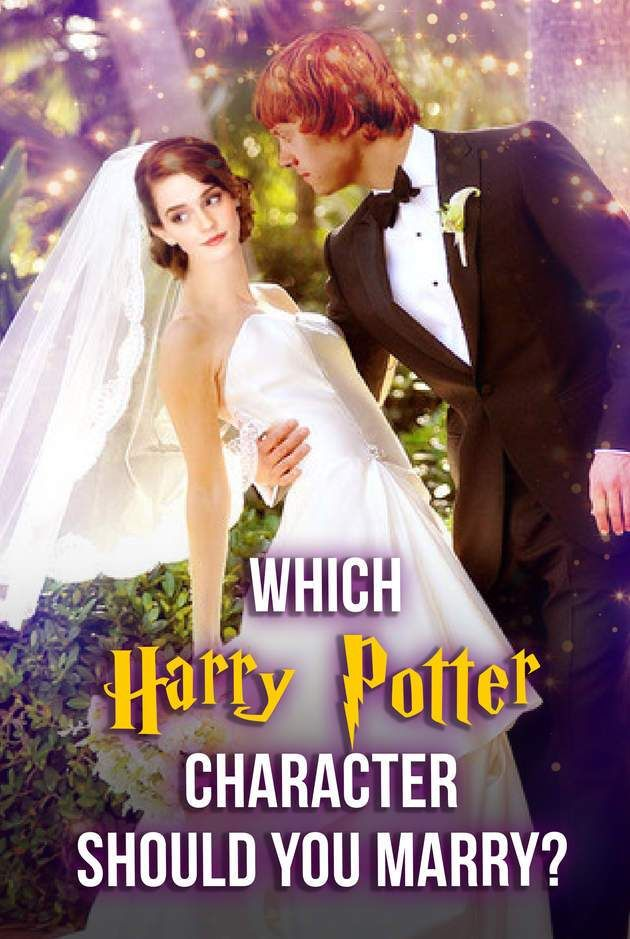 Hogwarts Quiz: Which Harry Potter Character Should You Marry