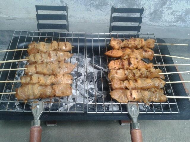 Chicken satay yay!