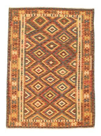 Kelim Afghan Old style tapijt NAU699