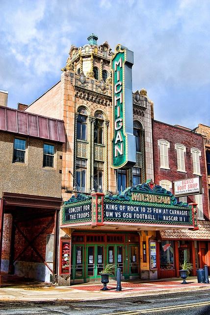Michigan Theater ~ Jackson, Michign