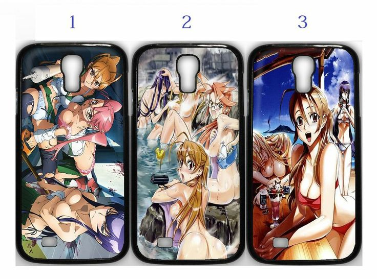 High School Of The Death HOT Anime Manga Samsung Galaxy S4 Case Black (1Pcs)