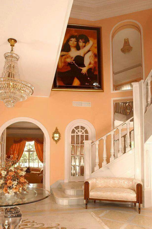 Prince & Mayte Garcia Home in Spain.