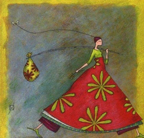 Pinzellades al món: Les il·lustracions de Gaëlle Boissonnard