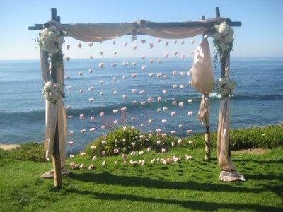 wood wedding arch | The Abbey Blog » 2010 » October