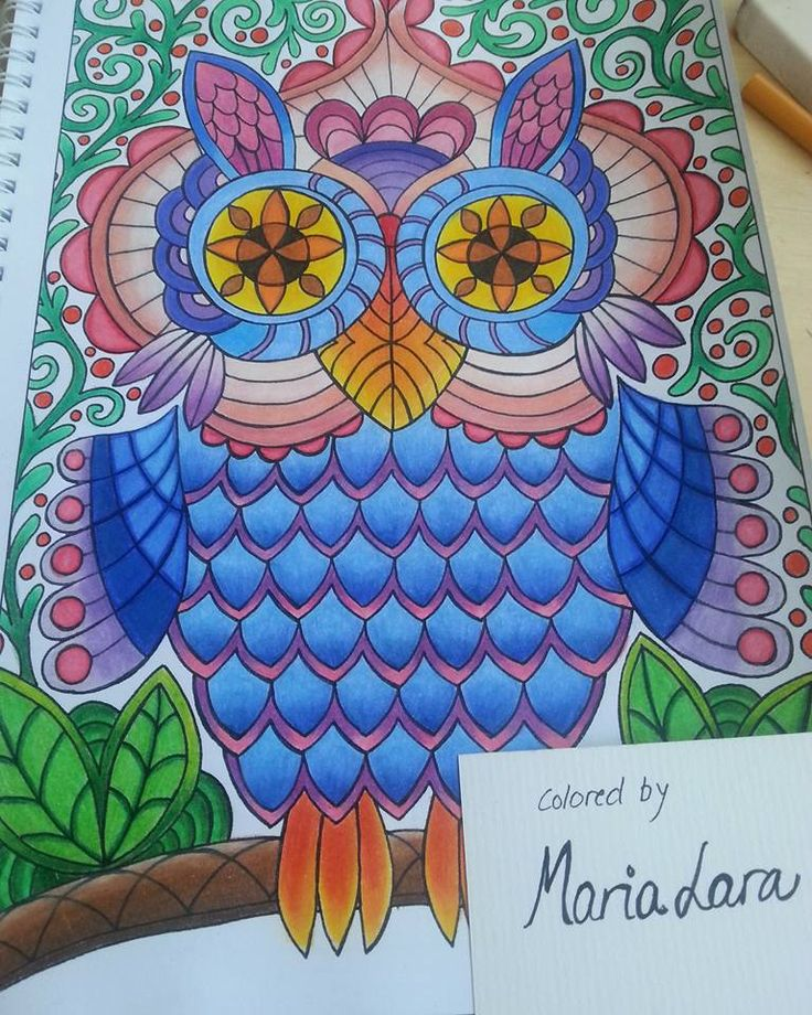 Today I was coloring at the beach. :) Coloring page from coloring book…