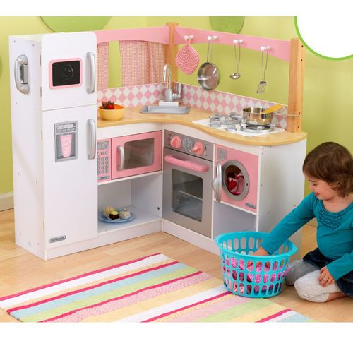 KidKraft Grand Gourmet Corner Kitchen W/ Toy Appliances