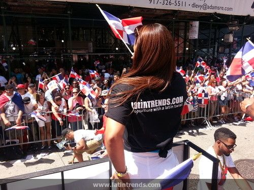 Photos of LatinTRENDS at the 2015 Dominican Day Parade