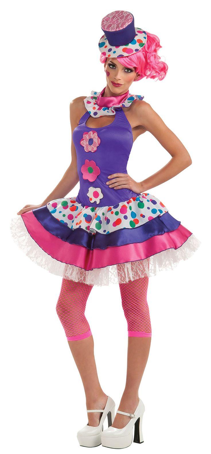 Jellybean Clown Costume
