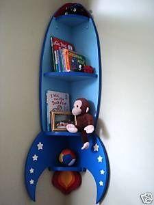 rocket ship bookshelf - Google Search