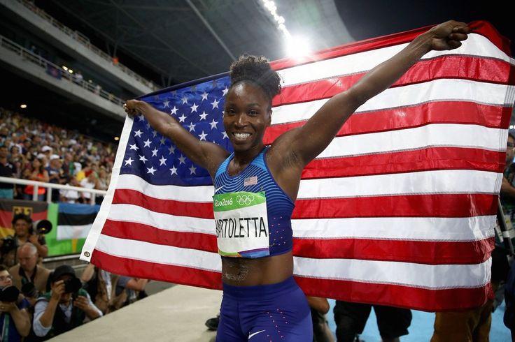 The Dreamer LDN — Tianna Bartoletta wins the women's Long Jump Gold...
