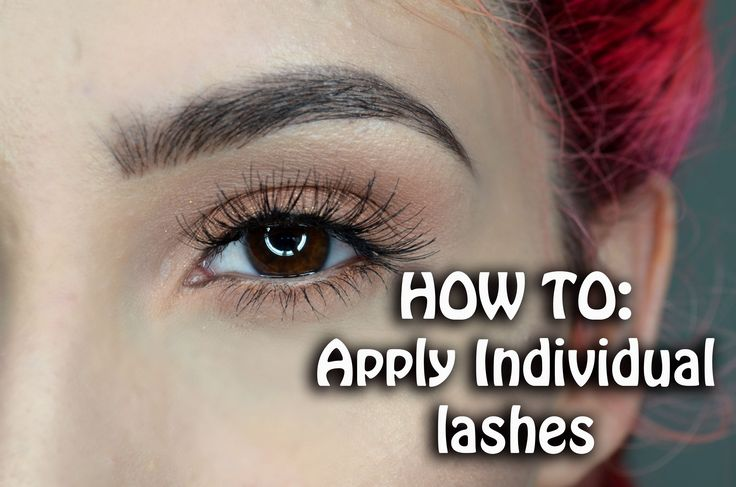 HOW TO: Apply Individual Lahes | Ft. Ardell Individual Lashes ♡