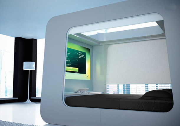 canopy bed is a bed equipped with automatic exclusive sets