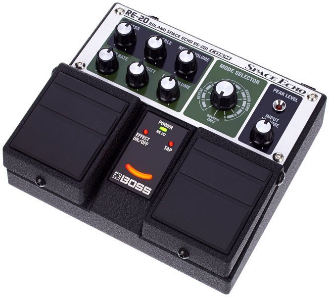 Recensione Boss RE-20 Space Echo