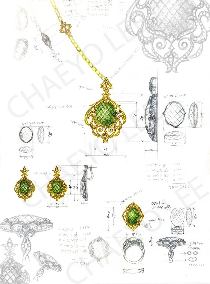 136 best Jewelry Design images on Pinterest Jewellery sketches