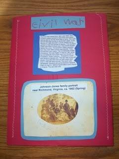 Civil War Lapbook
