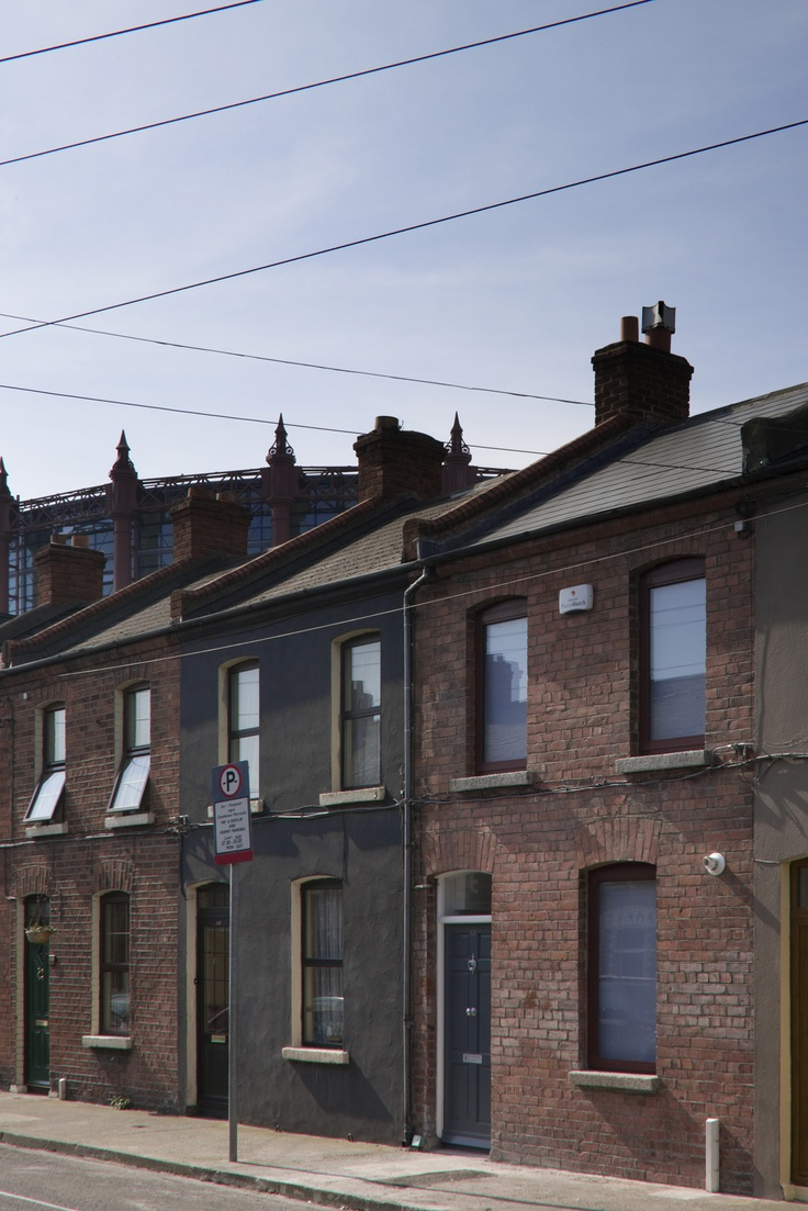 Brick House Addition In Dublin: Brick A Back House, Dublin, Ireland