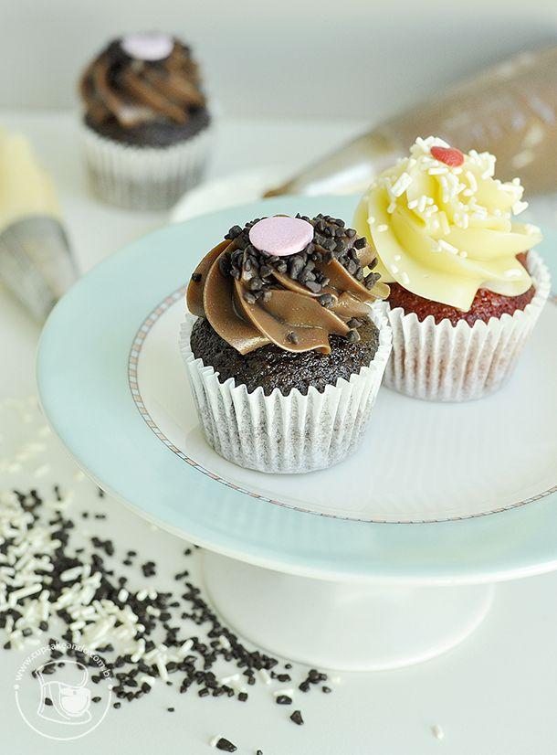 cobertura firme de brigadeiro Goumet - Perfeita para Cupcakes