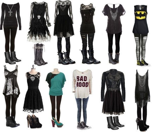 """""""Some clothes I really like :3....set #1"""" by zunera101 ❤ liked on Polyvore"""