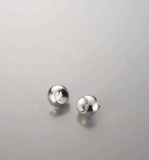 No. 1015SBTN001 material: sterling silver #silverjewelry #sohyungjoo #silverearrings