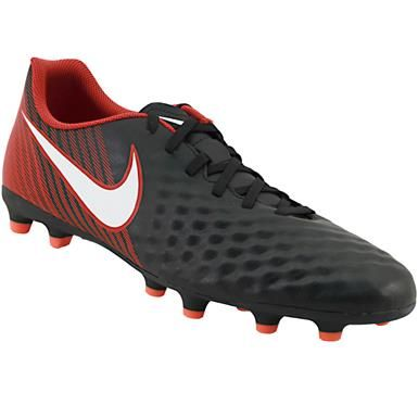 low priced b0c47 4b081 Nike Magista Ola II FG Outdoor Soccer Cleats - Mens Black Red White