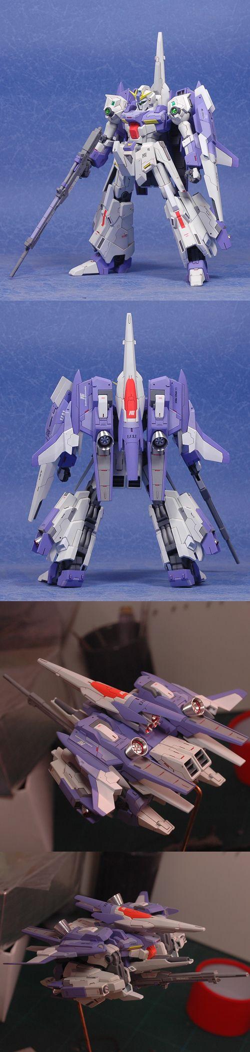 """RGZ-95C1 ReZEL Custom by """"dcsunkaka"""". #Gundam #GunPla"""