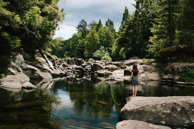 The amazingly beautiful McLaren Falls. The water is clear and cool and so refreshing on a hot day.  The sight of the water, rocks and surrounding trees fill me with peace and joy, as does swimming there.