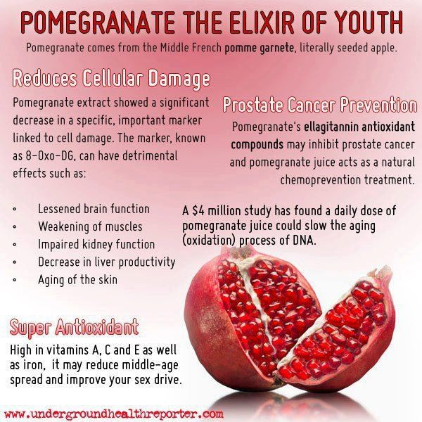 """Barefoot """"Kosher"""" Anti-Aging Tonic = Pomegranate main ingredient."""