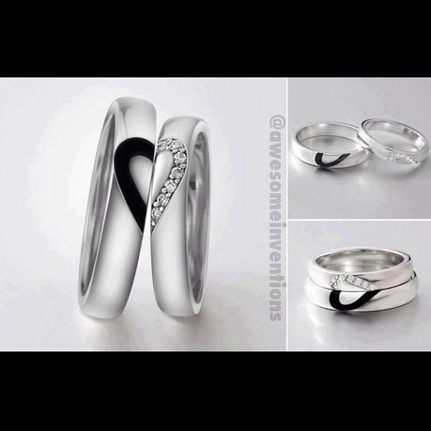 Love these wedding bands. If I could get it to go with my ring it would be perfect