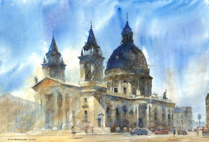 Watercolor-by-Tytus-Brzozowski-12.jpg (960×652)