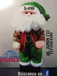 Papá Noel tradicional con chaleco