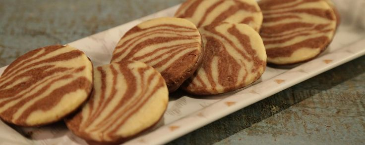 Marbled Shortbread Cookies Recipe by Carla Hall | The Chew - ABC.com