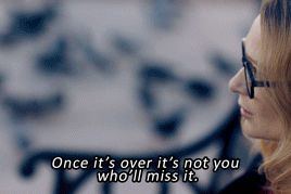 """Once it's over it's not you who'll miss it."" - Sherlock - The Lying Detective gif"