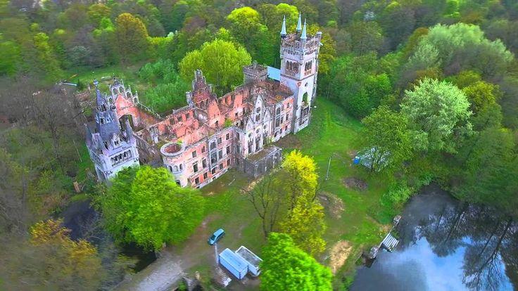 Ruiny Pałacu Schaffgotschów w Kopicach - Phantom 4