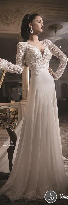 Wedding dress by Daniel Romi Kadosh 2014 ht