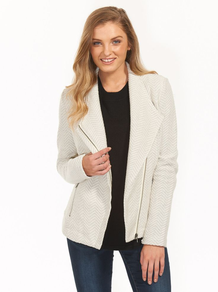 Image for Soft Collar Jersey Jacket from Just Jeans