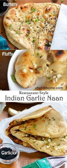 Indian Garlic Naan B