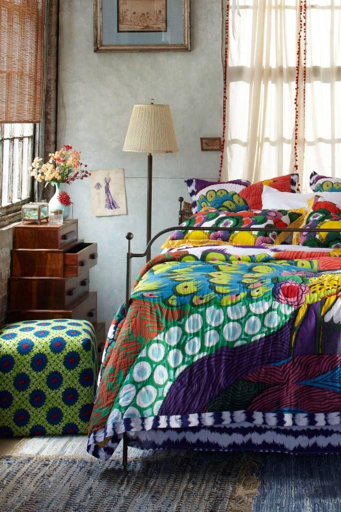 Impressive Bohemian Bedroom Design