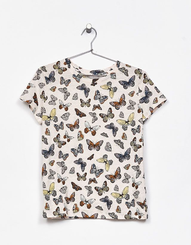 T- Shirts - CLOTHES - WOMAN - Bershka Tunisia 20