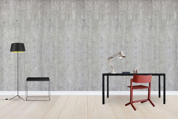 Concrete Wall - Tapetit / tapetti - Photowall