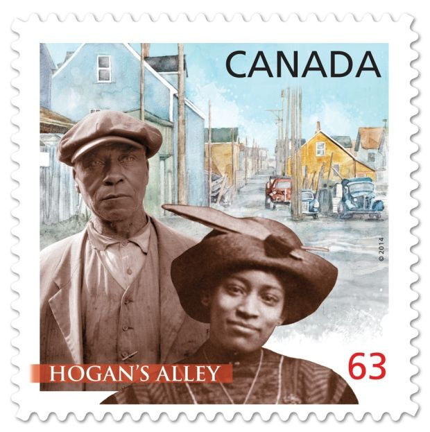 "Canada Post describes Hogan's Alley as a ""vibrant destination for food and jazz through the 1960s."" It explains that Hogan's Alley was the unofficial name ..."