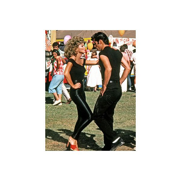 Last Minute Halloween Costumes? ❤ liked on Polyvore featuring costumes, grease, backgrounds, couples, pictures и danny zuko costume