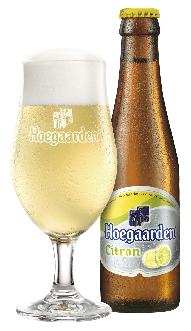 Hoegaarden Citron, not available in the U.S. Brother-in-law brought me one from Belgium
