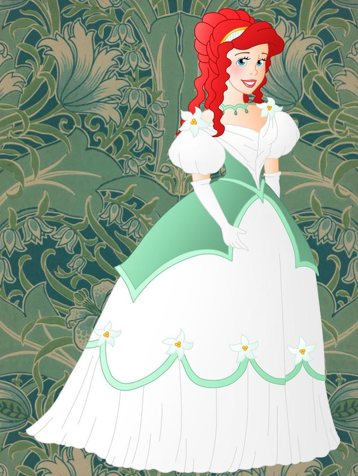 Animated princesses weddings blue dress pictures
