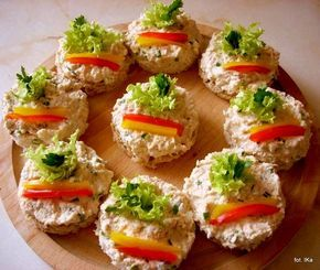 Smaczna Pyza: Pasta serowa i pasta z tuńczyka